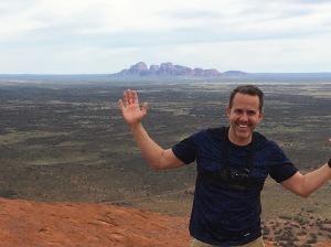 Uluru Red Rock - From the Top