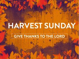 Harvest bulletin cover